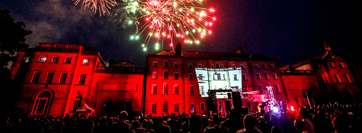 Fireworks at Carlow Arts Festival